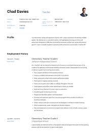 Example Teaching Resumes Teacher Resume Sample Writing Guide Resumeviking Com