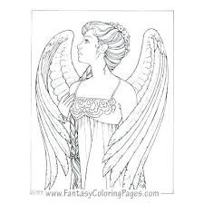 Angel Coloring Page Chronicles Network