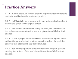 Using Mla Style 10th Edition Ppt Download
