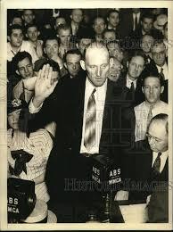 1934 Foto de prensa actuando oficial jefe Ivan Freeman de Sellada Morro  Castle a testificar   eBay
