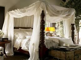Rustic Canopy Bed Ideas