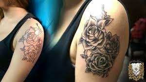 Tetování Rameno ženy