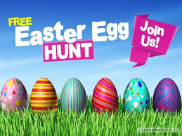 Service Background For Church Services Easter Egg Hunt Bright