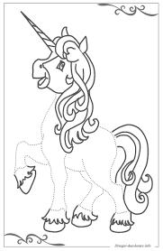 Unicorno Scaricare Disegni Da Colorare Gratis