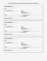 Free Printable Receipt Template Microsoft Word Invoice
