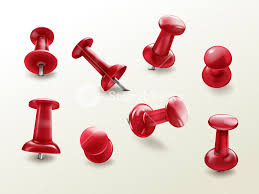 Side view office set Handles Stationery Office Thumbtack Vector Realistic Set Of Red Glossy Push Pins For Fixing On Board Storyblocks Stationery Office Thumbtack Vector Realistic Set Of Red Glossy Push