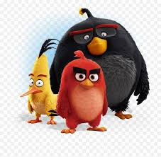 Angry Birds Png Image - Bomb Chuck Angry Birds - free transparent png  images - pngaaa.com
