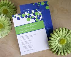 wedding invitations, polka dots in royal blue, white and lime Wedding Invitation Blue And Green wedding invitations, polka dots in royal blue, white and lime green wedding invitation blue green motif