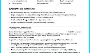 Resume For Electrician Building Maintenance Technician Resume