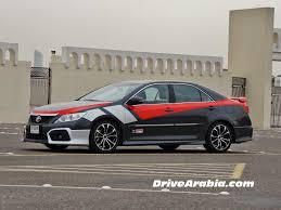 2015 Toyota Aurion TRD in the UAE 2 | Drive Arabia