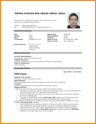 Job Resume Example For First Job 60 resume format for job application first time manager resume 36
