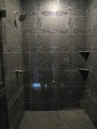 bathrooms with glass tiles. Glass Tile Shower - Contemporary Bathroom Chicago By Schilling Bathrooms With Tiles