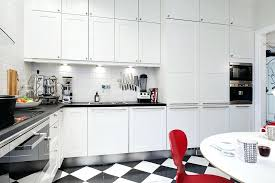 modern kitchen black and white. Red And White Kitchen Kitchens Eat In Black With Accents 4 . Beautiful Ideas Modern