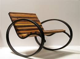 rustic and traditional outdoors chair design