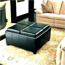 coffee table with seating underneath round coffee table ottomans underneath with cushion ottoman kitchen faucets kohler