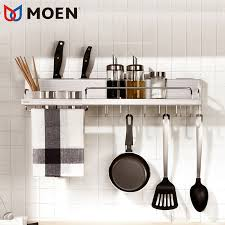 moen moen kitchen hardware pendant knife holder wall mounted hook hook frame stainless steel brushed kitchen