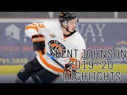Kent Johnson 2019-20 Highlights - BCHL - YouTube