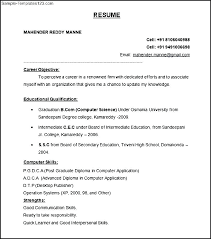 Free Download Resume Mesmerizing The Format Of Resume Penzapoisk