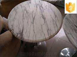 White marble table top Walnut Round China Bianco Carrara White Marble Table Tops Design Custom Bianco Marmo White Marble Tables Chinese Carrara White Marble Work Top Stonecontactcom Round China Bianco Carrara White Marble Table Tops Design Custom