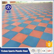 outdoor playground gym rubber flooring