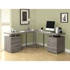 l shaped home office desk. Monarch Office Furniture L Shaped Home Reclaimed Look Desk With . R