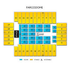 Fargo Dome Seating Chart Cher Fargo Tickets 4 11 2020 Vivid Seats
