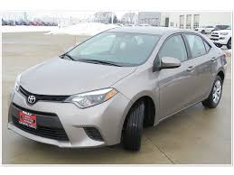 Certified Pre-Owned 2014 Toyota Corolla LE 4D Sedan in Crystal ...