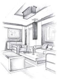 Interior Design Photo Drawing Drawing Skill Magnificent Drawing Interior Design