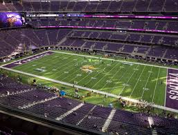 Us Bank Seating Chart Vikings U S Bank Stadium Section 309 Seat Views Seatgeek
