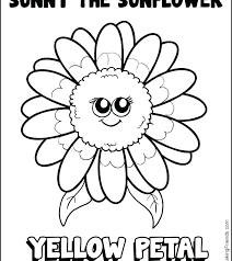 Free Coloring Pages Of Flower Gardens Daisy Girl Scout Coloring