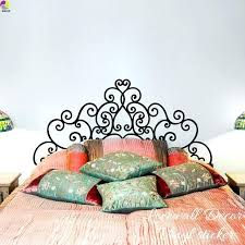 headboard wall decal large headboard wall sticker kids room bedroom giant headboard flower heart wall decal headboard wall decal