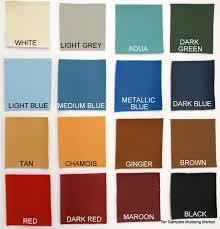 66 Mustang Color Chart 1963 1964 1966 Galaxie Fairlane Mustang Headliner