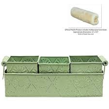 Decorative Planter Boxes MyGift Metal Floral Design Country Rustic Style Decorative Home 86