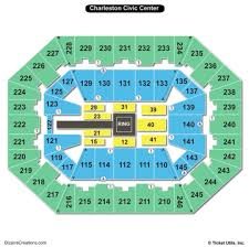 60 Experienced Charleston Civic Center Seating Chart With Rows
