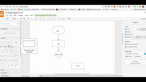 Flow Chart Io How To Use Www Draw Io To Produce A Flowchart