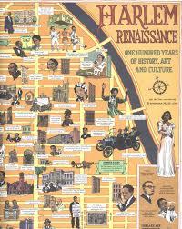Harlem Renaissance Map Of Harlem African American