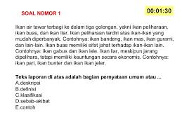 Contoh soal gagasan utama & simpulan teks no. Contoh Soal Hots Bahasa Indonesia