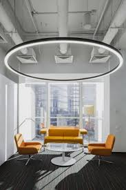 Office lighting ideas Lamp Orange Business Services Office By Tt Architects Moscow Russia Lbc Lighting Modern Commercial Office Lighting Design Ideas Lbclightingcomblog