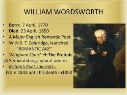 william wordsworth as a critic wordsworth