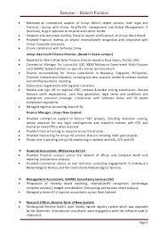Commercial Finance Manager Sample Resume Beauteous R Purkiss Resume