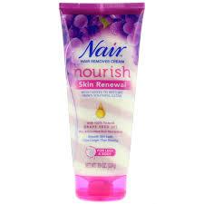 nair hair remover cream nourish skin renewal for legs body