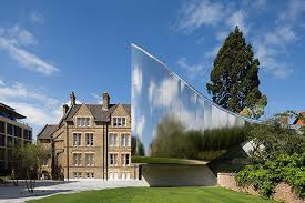 Modern Architecture Oxford In One Fluid Curve Zaha On Inspiration Decorating