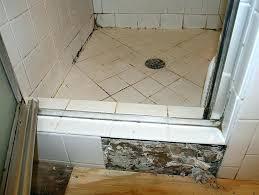 diy shower pan installation shower base black mold mud set shower pan basement shower install installing