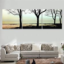 Painting For Living Room Oil Painting Cuadros Decoracion Wall Art Home Decor Landscape