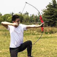 <b>40LBS Straight Bow for</b> Right hand and Left hand 50 Inches With ...