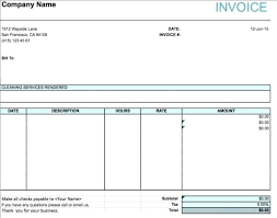 Services Rendered Invoice Classy Bill Of Service Template Vitaesaluteco
