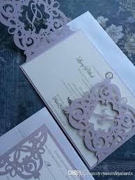 Wedding Invitation Folding Laser Cut Wedding Invitation Monogram Spanish Iron Gate Folding