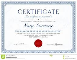 white certificate frame certificate diploma of completion design template white