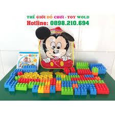 Đồ Chơi Xếp Hình Balo Chuột Mickey Cho Bé giảm chỉ còn 86,000 đ