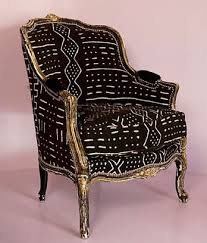 african chairs african fabric reupholstered chair inspire me to create